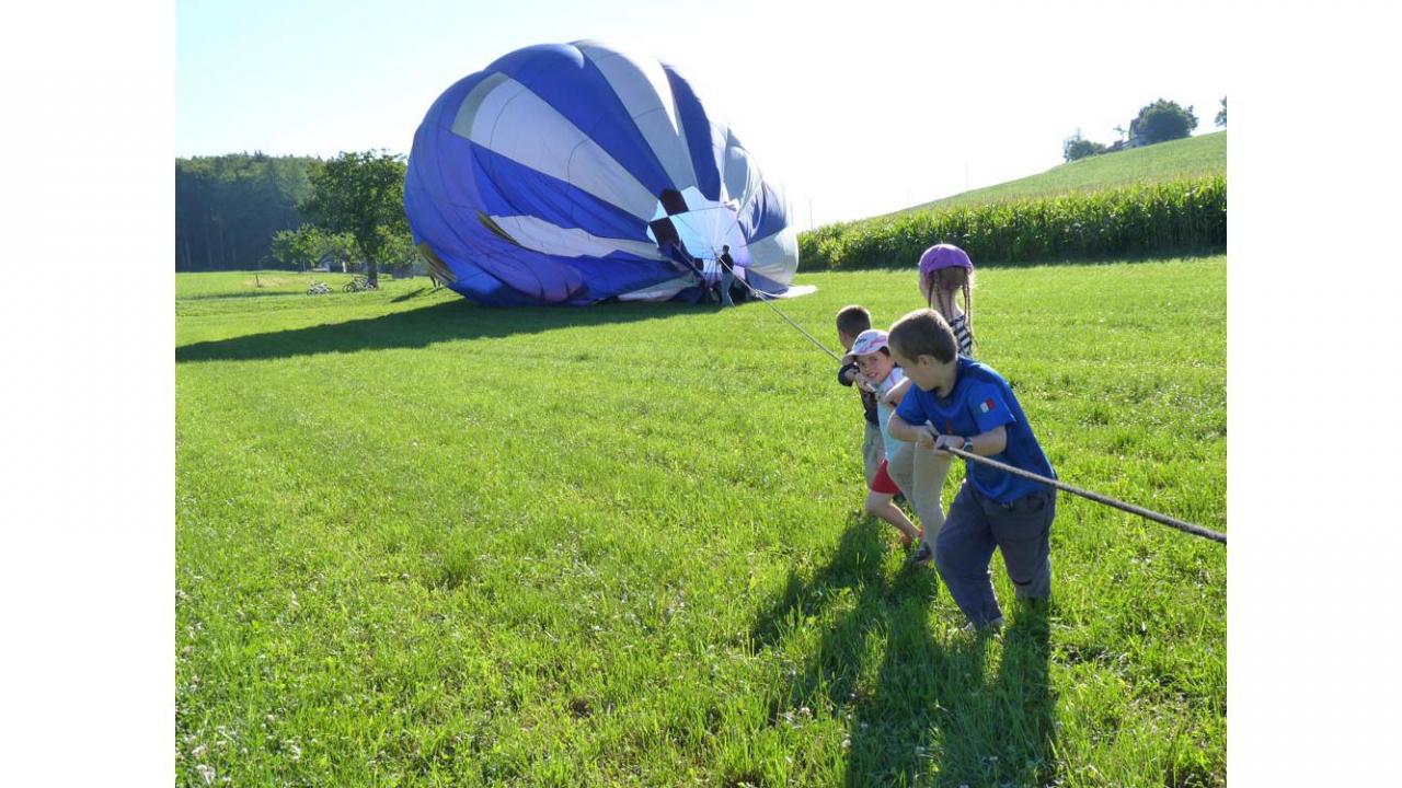 Vol en montgolfi re for Le jardin morat