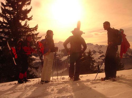 Schneeschuhwanderung - bei Mondschein mit Fondueplausch 7 [article_picture_small]