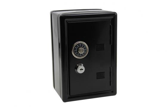 Spardose - Mini Tresor, schwarz 1