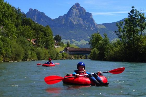 River Tubing für 2 - auf dem Vierwaldstättersee 1 [article_picture_small]