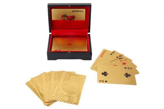 Poker Or 24 Carats - Dans une boîte en bois 1