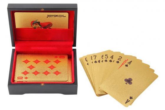 Poker Or 24 Carats - Dans une boîte en bois 3