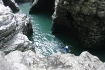Canyoning - im Swiss Knife Valley