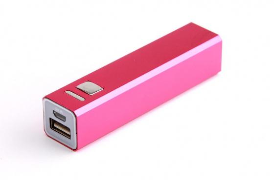 Powerbank für Smartphone - und USB-Geräte - Pink 1