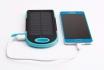 Solar Powerbank Blau - für Smartphone und USB-Geräte 2 [article_picture_small]