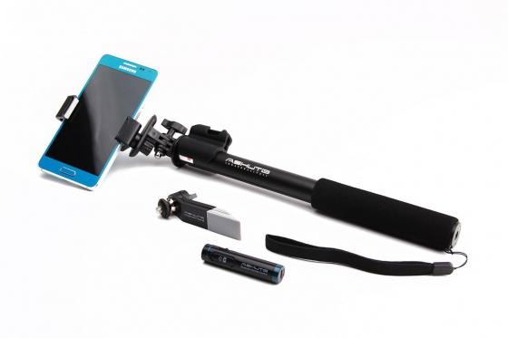 Selfie Stick professionnel - Avec trépied et télécommande