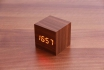 Wooden LED Wecker - The Tiny braun  [article_picture_small]