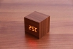 Wooden LED Wecker - The Tiny braun 1 [article_picture_small]