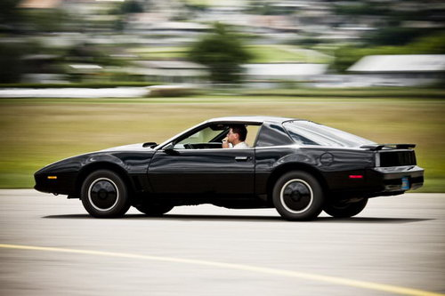 Besuch bei K.I.T.T - aus der Serie Knight Rider 1 [article_picture_small]