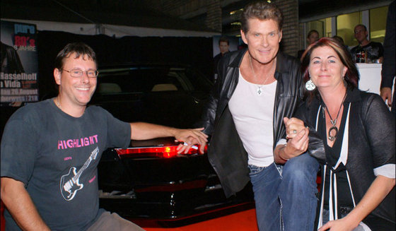 Besuch bei K.I.T.T - aus der Serie Knight Rider 2 [article_picture_small]