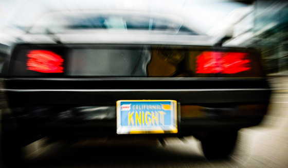 Besuch bei K.I.T.T - aus der Serie Knight Rider 3 [article_picture_small]