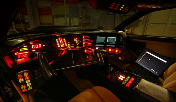 Besuch bei K.I.T.T - aus der Serie Knight Rider 5 [article_picture_small]