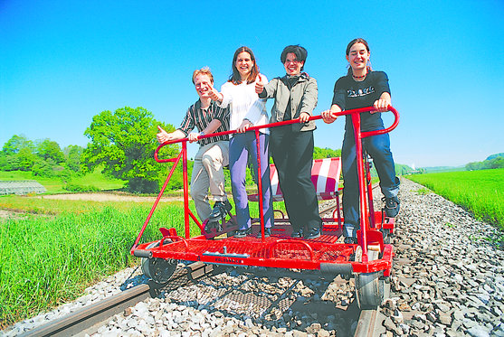 Schienenvelo 1-4 Stunden - Familienausflug  [article_picture_small]