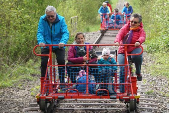 Schienenvelo 1-4 Stunden - Familienausflug 2 [article_picture_small]