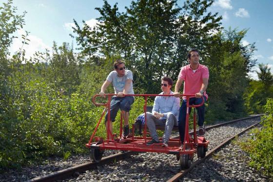 Schienenvelo 1-4 Stunden - Familienausflug 3 [article_picture_small]