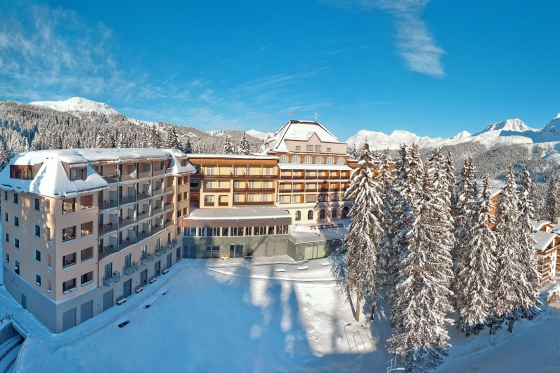 Winter Wellness-Auszeit - Waldhotel National Arosa inkl. 5-Gang Auswahl-Gourmetmenü  [article_picture_small]