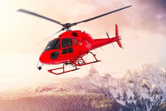 Helikopterflug -  inkl. Raclette-Plausch für 2 Personen | 20 Minuten Flug  [article_picture_small]