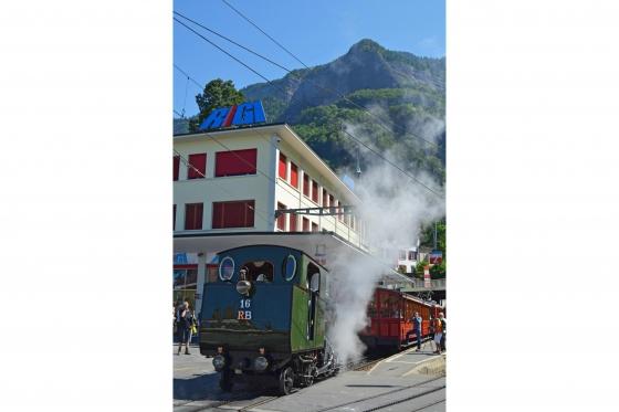 Voyage en train à vapeur - sur la reine des montagnes (pour personnes sans abonnements CFF) 1 [article_picture_small]
