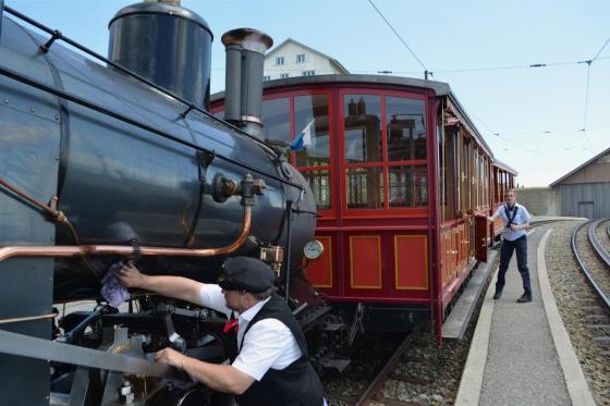 Voyage en train à vapeur - sur la reine des montagnes (pour personnes sans abonnements CFF) 4 [article_picture_small]