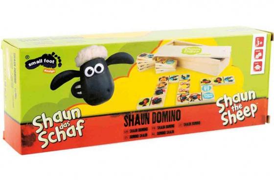 Domino Shaun le mouton - en bois robuste 3