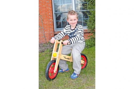 """Vélo """"Number 1"""" - en bois robuste 1"""