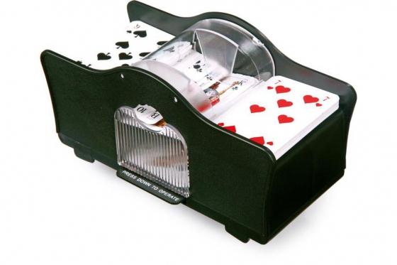 Spielkartenmischmaschine - Für Jass- , Uno-, und viele weiteren Karten