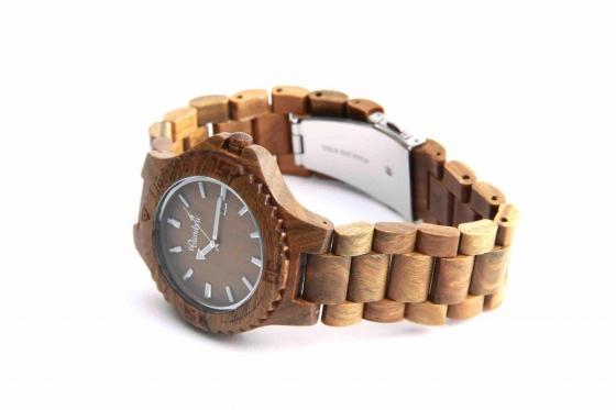Bambuu Holzuhr - Wood Classic 2