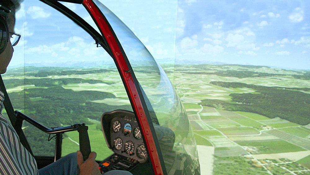 Simulatore elicottero r22 volo di prova di 2 ore for Simulatore arredamento