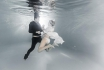 Babybauch Fotoshooting-für schöne Unterwasser Fotos 2