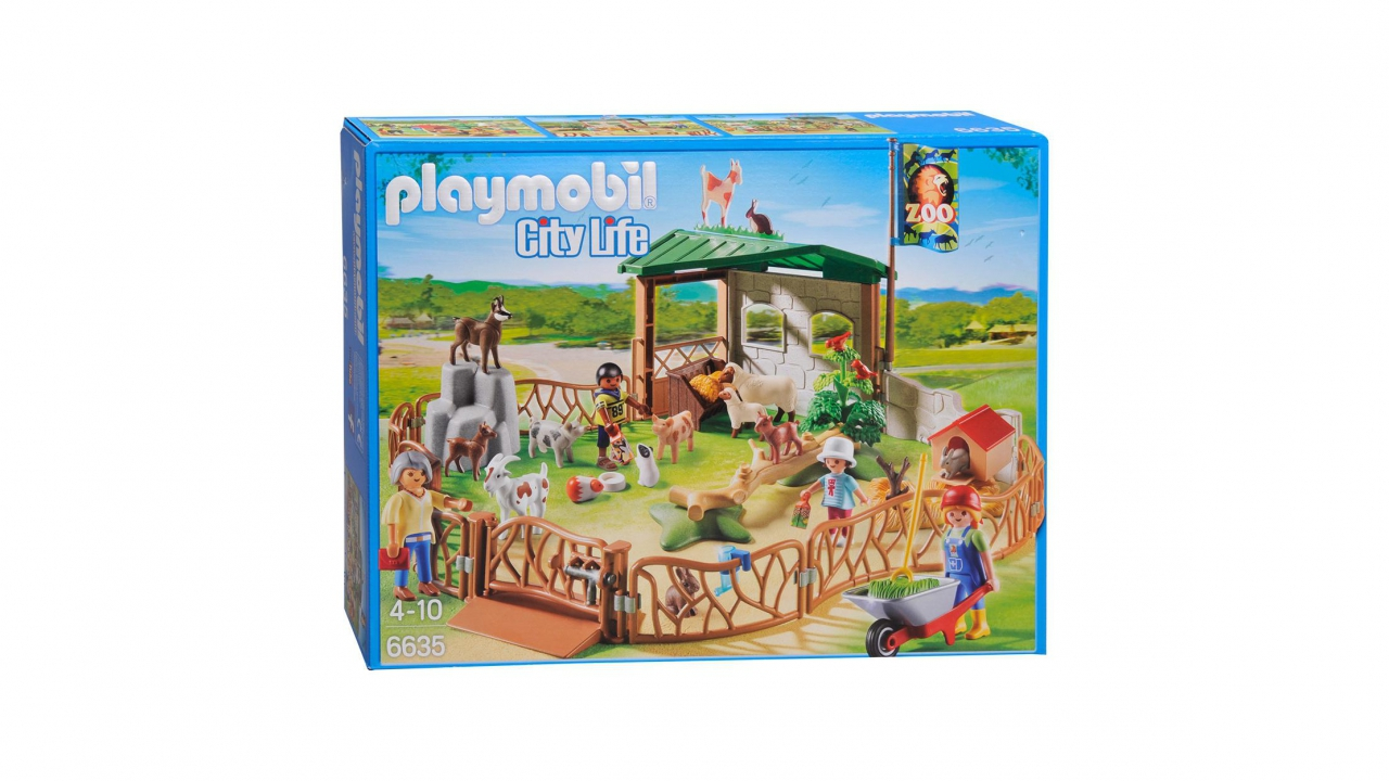 Playmobil zoo pour enfants for Salle a manger playmobil city life