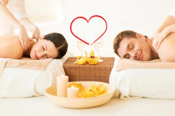 Spa privatif romantique - Avec massage pour 2 personnes - l'après-midi  [article_picture_small]