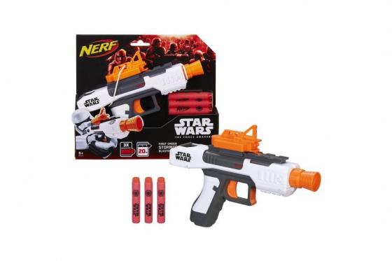 Star Wars E7 Nerf Villain Tr.  - White Class 1 Blaster