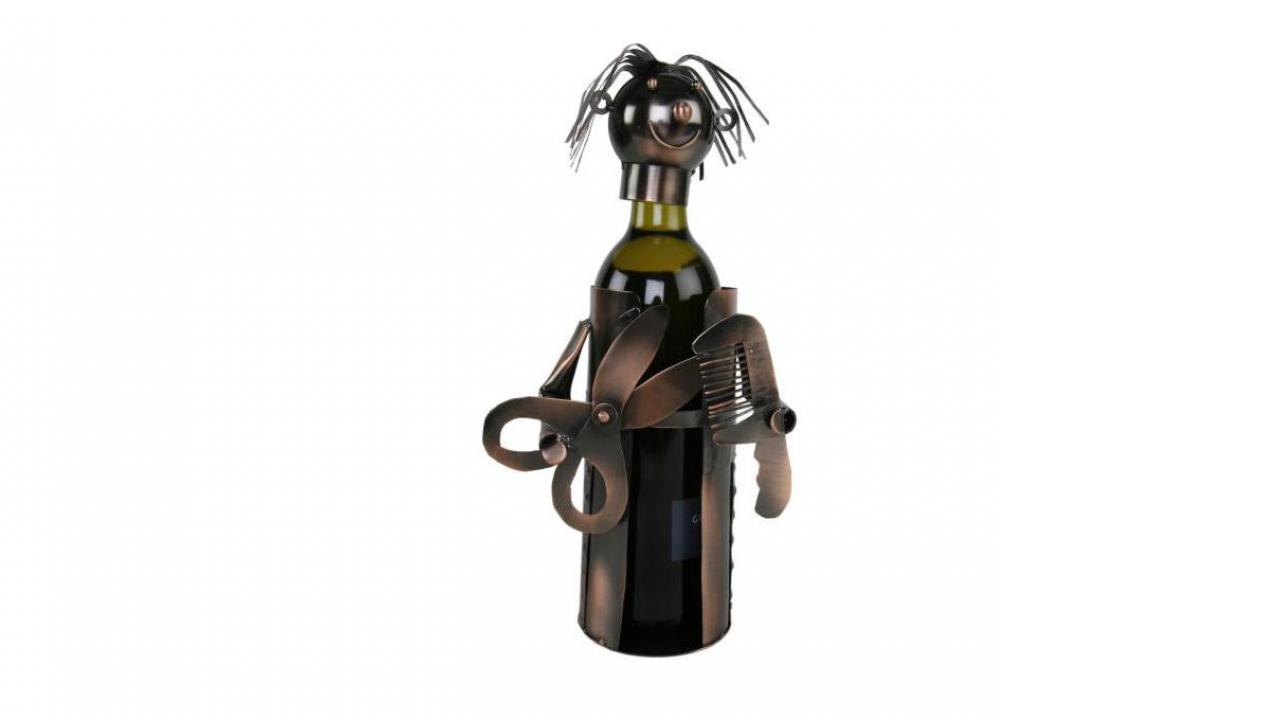 Porte bouteille for Porte bouteille decoratif