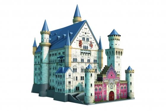 Schloss Neuschwanstein  - 3D Puzzle 216teilig 1