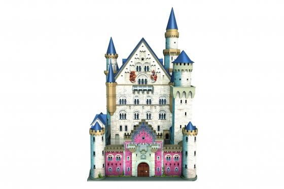 Schloss Neuschwanstein  - 3D Puzzle 216teilig 2
