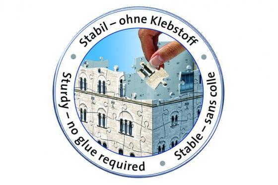Schloss Neuschwanstein  - 3D Puzzle 216teilig 3