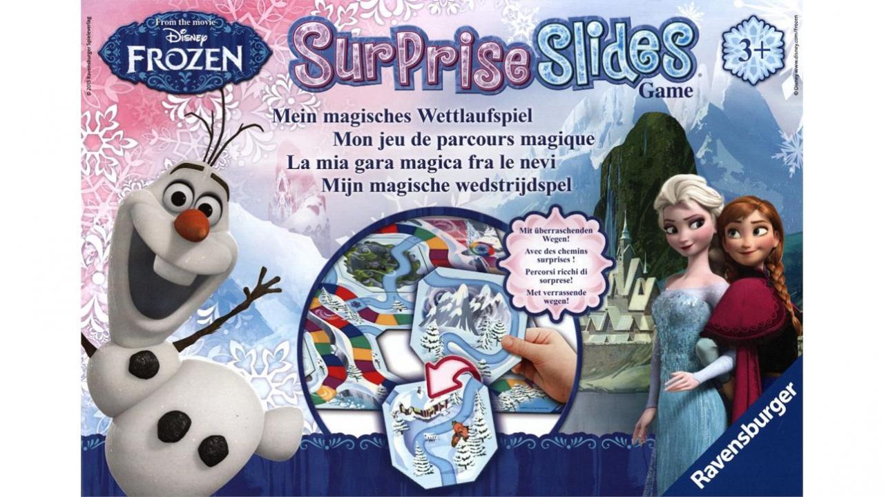 Jeu surprise slides reine des neiges - Jeu reine des neige gratuit ...