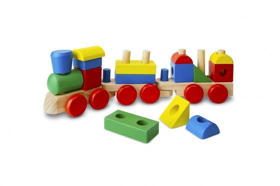 Petit train empilable - 15 pièces