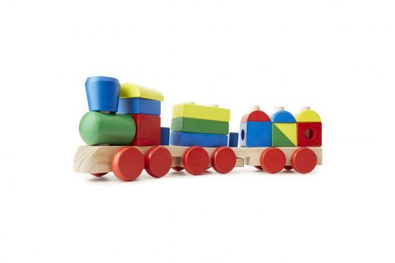 Petit train empilable - 15 pièces 1