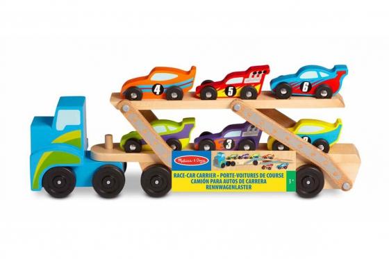 Camion pour bolides - inclus: 6 voitures de course 1