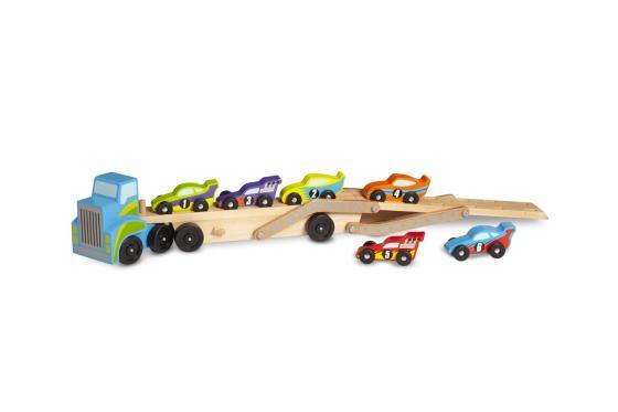 Camion pour bolides - inclus: 6 voitures de course 2