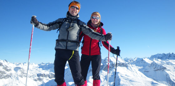 Schneeschuhwanderung für 2 - Schneeschuhtour Graubünden 5 [article_picture_small]