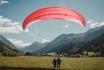 Gleitschirm Höhenflug-Tandemflug in Davos GR 1