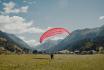 Gleitschirm Höhenflug-Tandemflug in Davos GR 9