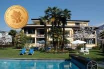 Übernachtung im Tessin - 3* Villa Siesta Park Losone