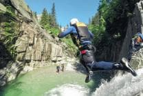 Canyoning Geschenk - Canyoning Grimsel