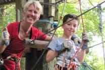 Seilpark Abenteuer in Zürich - Action zu zweit mit Helmkamera