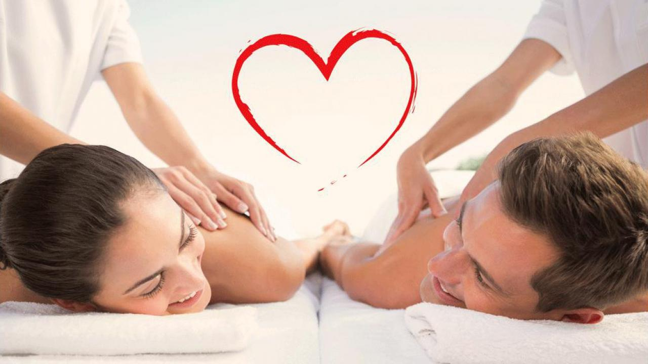 Paar massage geschenk