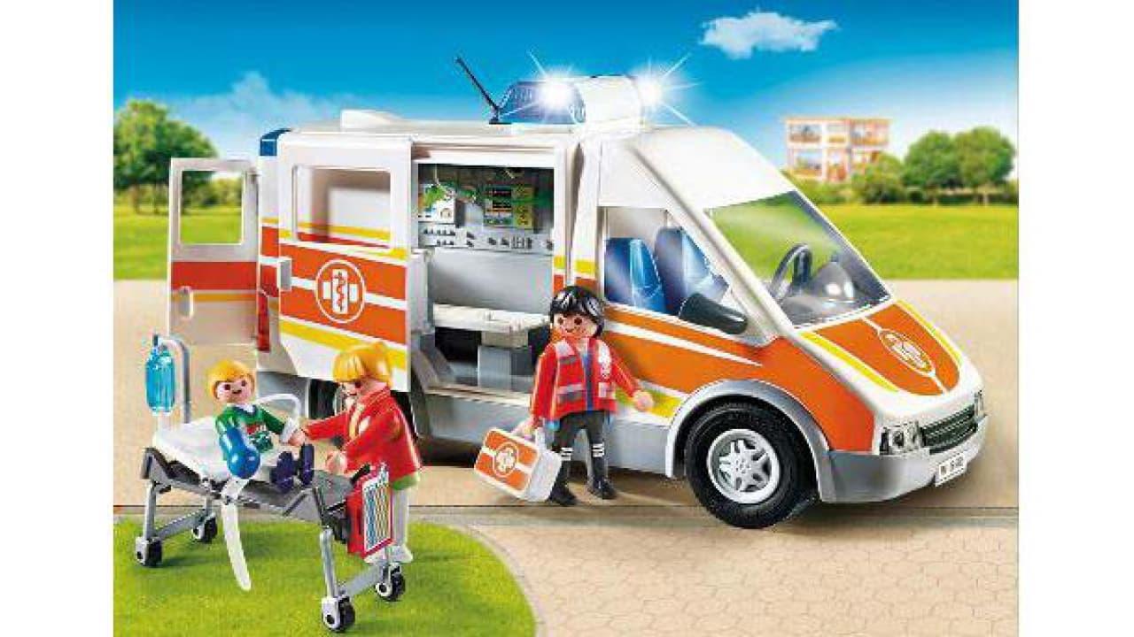 Playmobil Ambulance avec lumière et son 6685