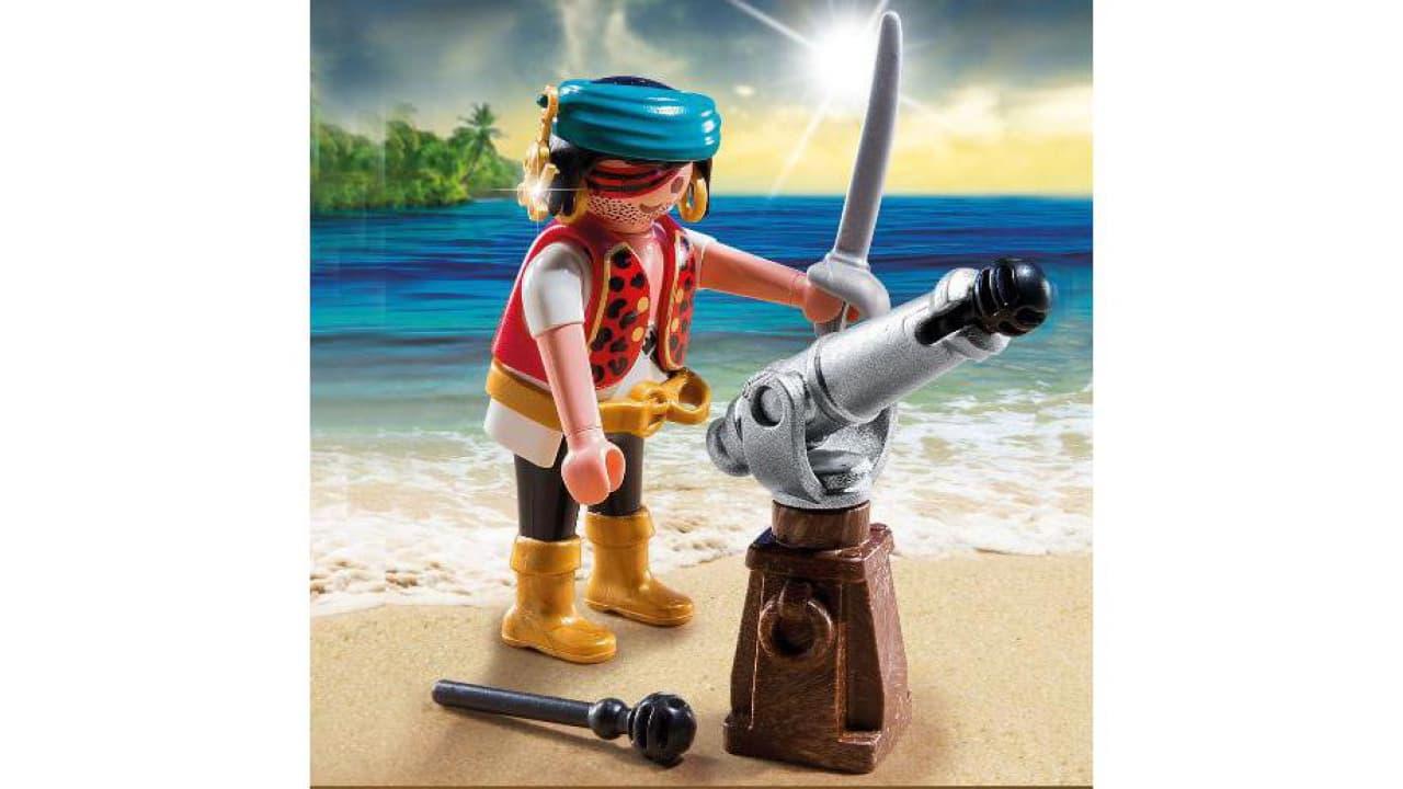 pirat mit kanone  von playmobil 2
